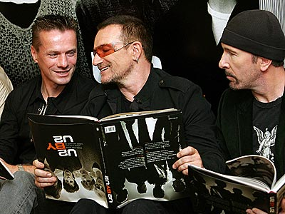 U2, Bono, Edge, Larry Mullen Jr
