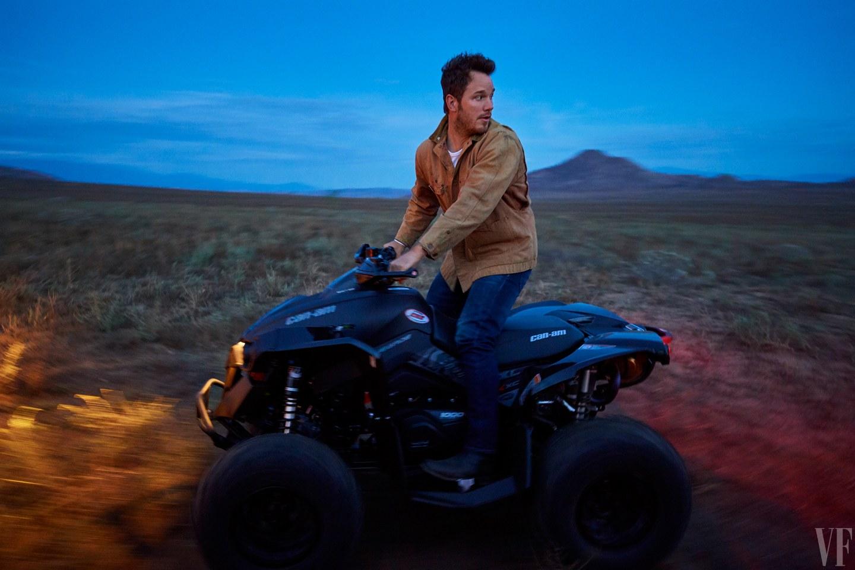 Chris Pratt, Vanity Fair