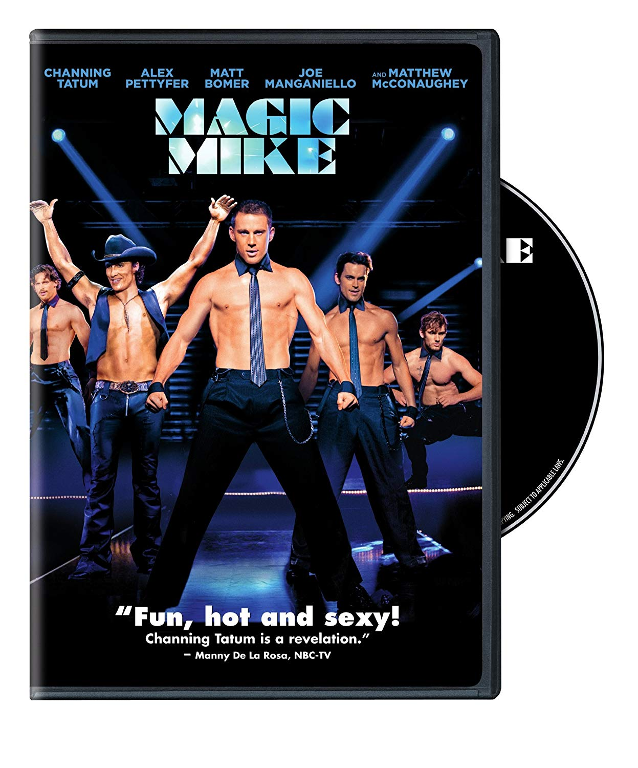 Channing Tatum, Matt Bomer, Matthew McConaughey, Joe Manganiello, Magic Mike