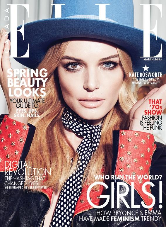 Kate Bosworth, Elle Canada