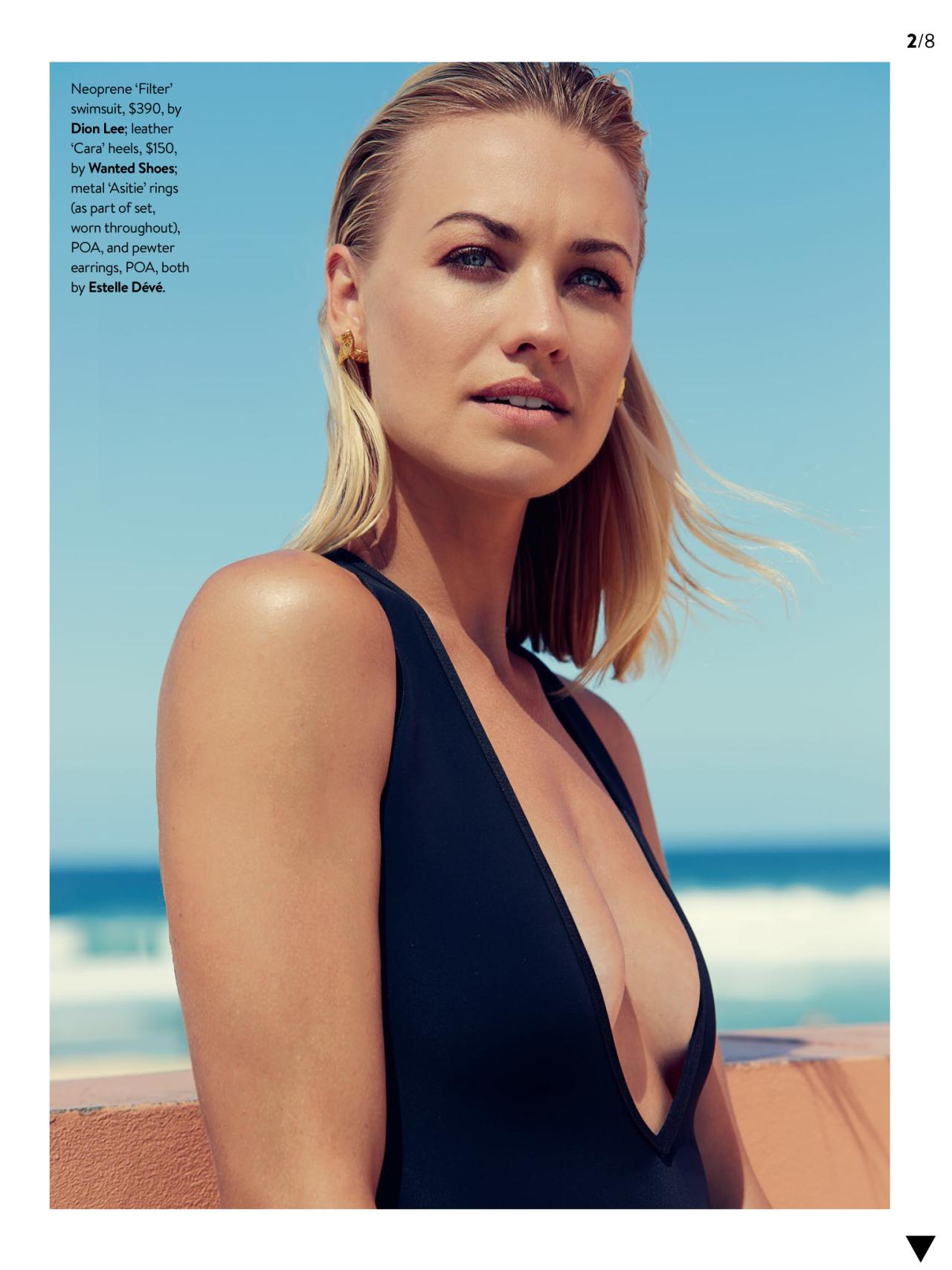 Yvonne Strahovski, GQ Australia